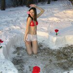 Heart in a snowdrift and sex at home, pic 3