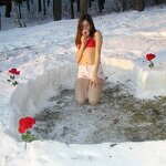 Heart in a snowdrift and sex at home, pic 5