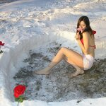 Heart in a snowdrift and sex at home, pic 6