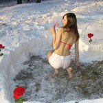Heart in a snowdrift and sex at home, pic 7