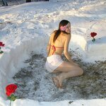 Heart in a snowdrift and sex at home, pic 8