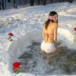 Heart in a snowdrift and sex at home, pic 9