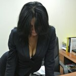 Striptease in the office, pic 3