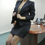 Striptease in the office, pic 9