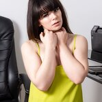 Striptease in an office chair, pic 20