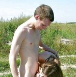 Swingers fuck at the picnic, pic 7