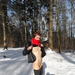 Wife naked in nature, pic 28