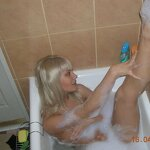 Wife takes a bath, pic 27