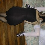 Wife and girlfriend entertain husband, pic 28