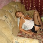 Wife in stockings on an armchair, pic 20